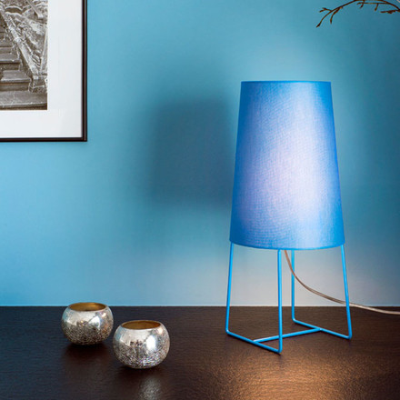 FrauMaier - Minisophie Table Lamp, blue