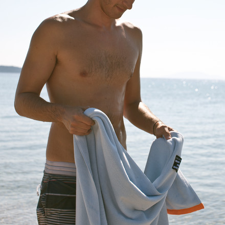 Cuddly Beach Towel for a sunny day