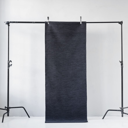 Menu - Norm Rug rectangular, dark navy grey