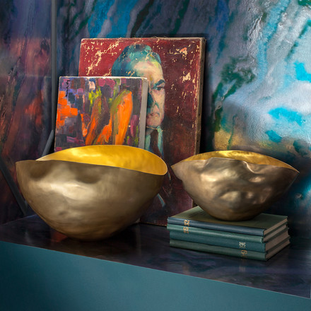 Fine shades of blue and gold by Tom Dixon