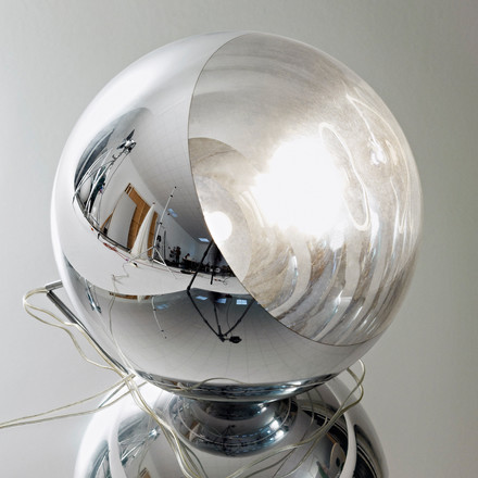 Mirror Ball Floor Lamp by Tom Dixon