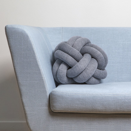 Knot Cushions on the Nest Sofa