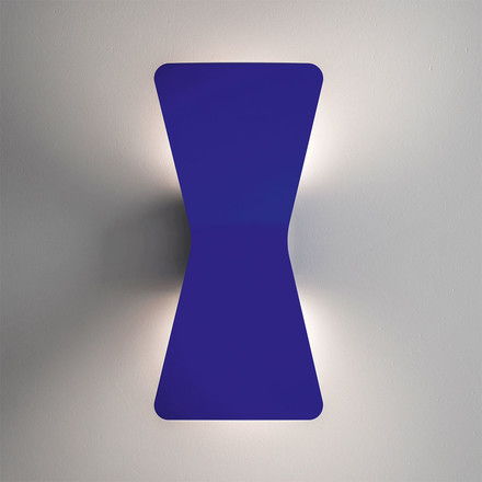 Flex LED wall lamp by FontanaArte in blue