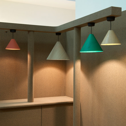 The 30 Degree pendant lamp by wrong.london