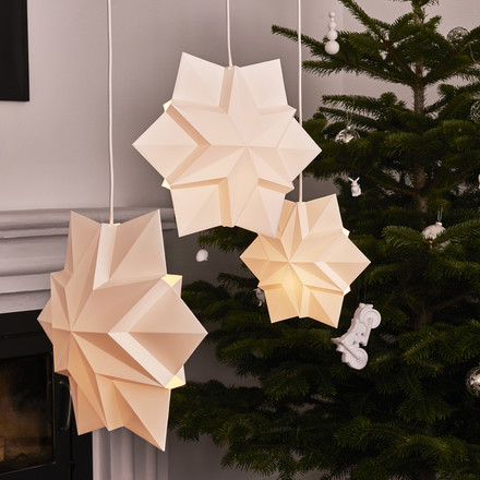 Star Suspension Lamp for Charity