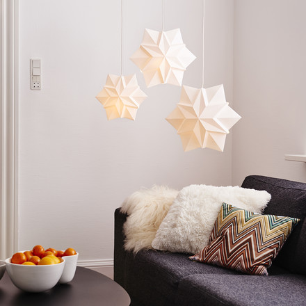 Handmade Star Suspension Lights