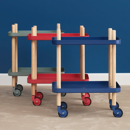 Block Table Trolley by Normann Copenhagen