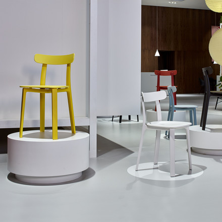 The All Plastic Chair by Vitra