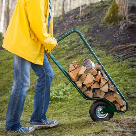 Easy Transport and Storage of Fire Wood