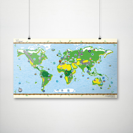 Kids Map from Awesome Maps