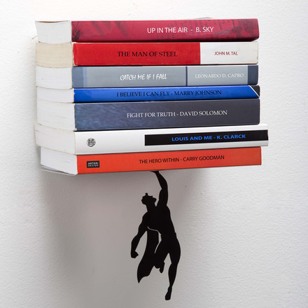 Supershelf Bookend from Artori Design