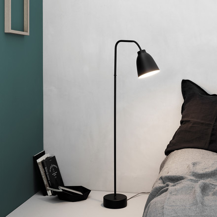Low Caravaggio Floor Lamp Read