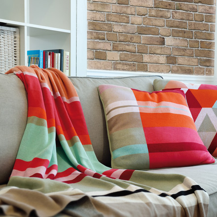 Cotton Blanket and Cushions by Remember