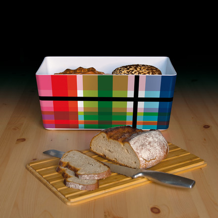Bread box with bamboo lid by Remember
