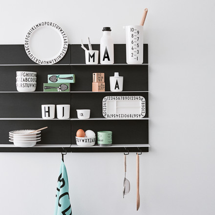 Design Letters - Black Paper Shelf A2