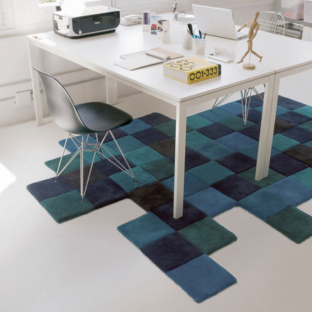 Do-Lo-Rez rug by nanimarquina in Blue