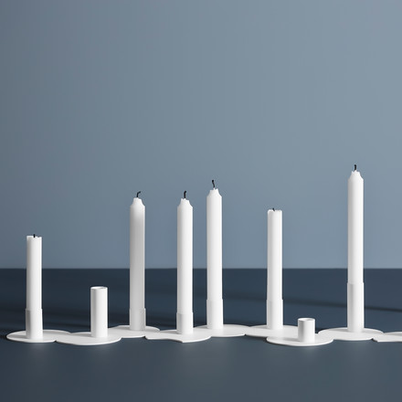 Cluster Candlesticks in various Versions