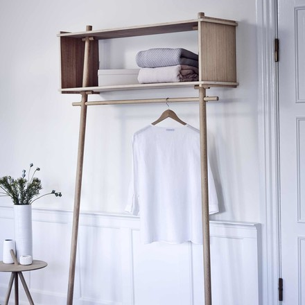 Töjbox coat stand by Woud
