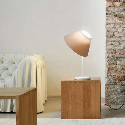 Luceplan - Cappuccina Table and Floor Lamp