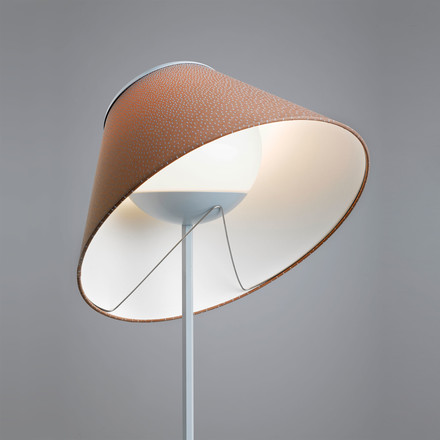 Cappuccina Table and Floor Lamp by Luceplan