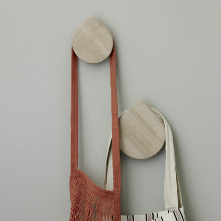 Regn Hooks by Skagerak made of oak