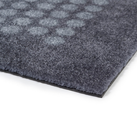 The tica copenhagen - Dot Doormat in grey