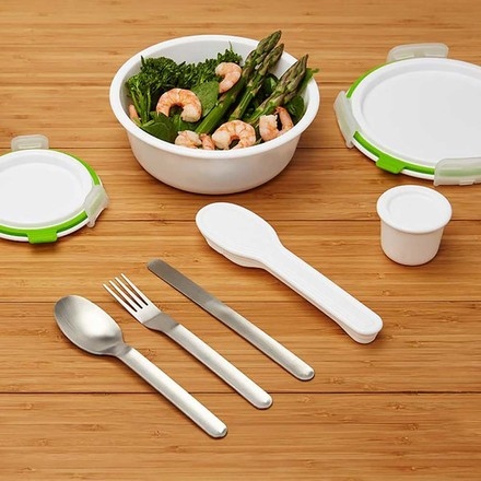Cutlery and Lunch Box by Black + Blum
