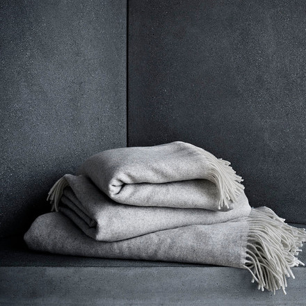 Blankets by Fritz Hansen out of Merino and Cashmere