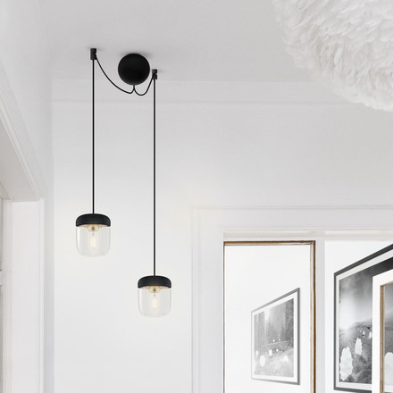 Discreet Suspension for Lamps