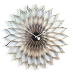 Vitra - Sunflower Clock, birch / black