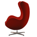 Fritz Hansen - Egg Chair- Divina, red 623