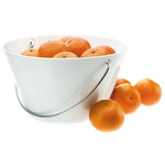 Eva Solo - Porcelain bowl with handle - 1l - white