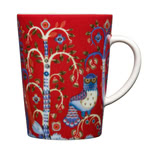 Iittala - Taika Mug with Handle, red 0.40 l