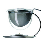 mono filio - teapot with integrated teapot warmer