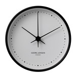 Georg Jensen - Henning Koppel Wall Clock Ø 22 cm, black / white