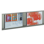 Q-Up A4Q - Presentation system incl. 3 frames