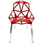 Magis - Chair One stackable chair, red