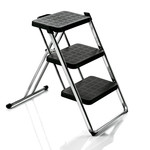 Magis - Nuovastep Stepladder, chromed, black