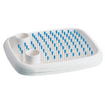 Magis - Dish Doctor, white / light blue