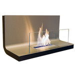 Radius Design - Wallflame I, Stainless Steel