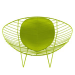 Arper - Leaf Lounge-Armchair, green