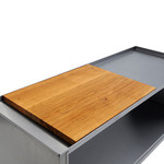 Radius-Design - fireplace trolley, wooden cover
