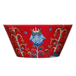 Iittala - Taika Bowl, red 0.60 l