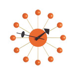 Vitra - Ball Clock, orange