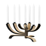 Design House Stockholm - Nordic Light Candle Holder - 7-arms, black