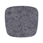 Hey Sign Felt Cushion Eames Plastic Armchair, anthracite 5 mm AR, with anti-slide coating
