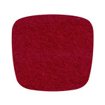 Hey Sign Felt Cushion Eames Plastic Armchair, red 5 mm, without anti-slide coating