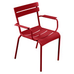 Fermob - Luxembourg Armchair, poppy red