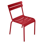 Fermob - Luxembourg Chair, stackable, poppy red