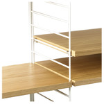 String - Shelving System, oak wood